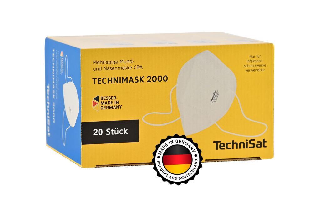 Mundschutzmaske Made in Germany - Atemschutzmaske